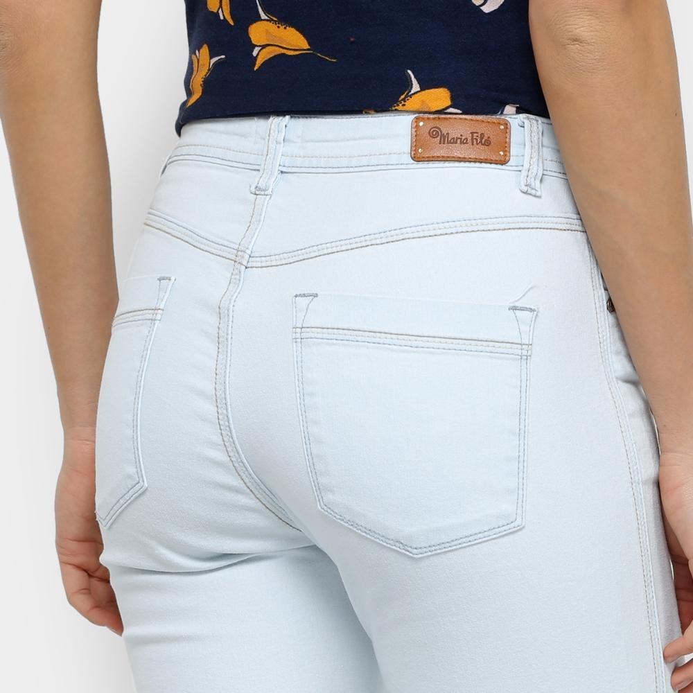 decc2c45f Calça Jeans Skinny Maria Filó Delavê Pespontos Feminina - R$ 219,99 ...