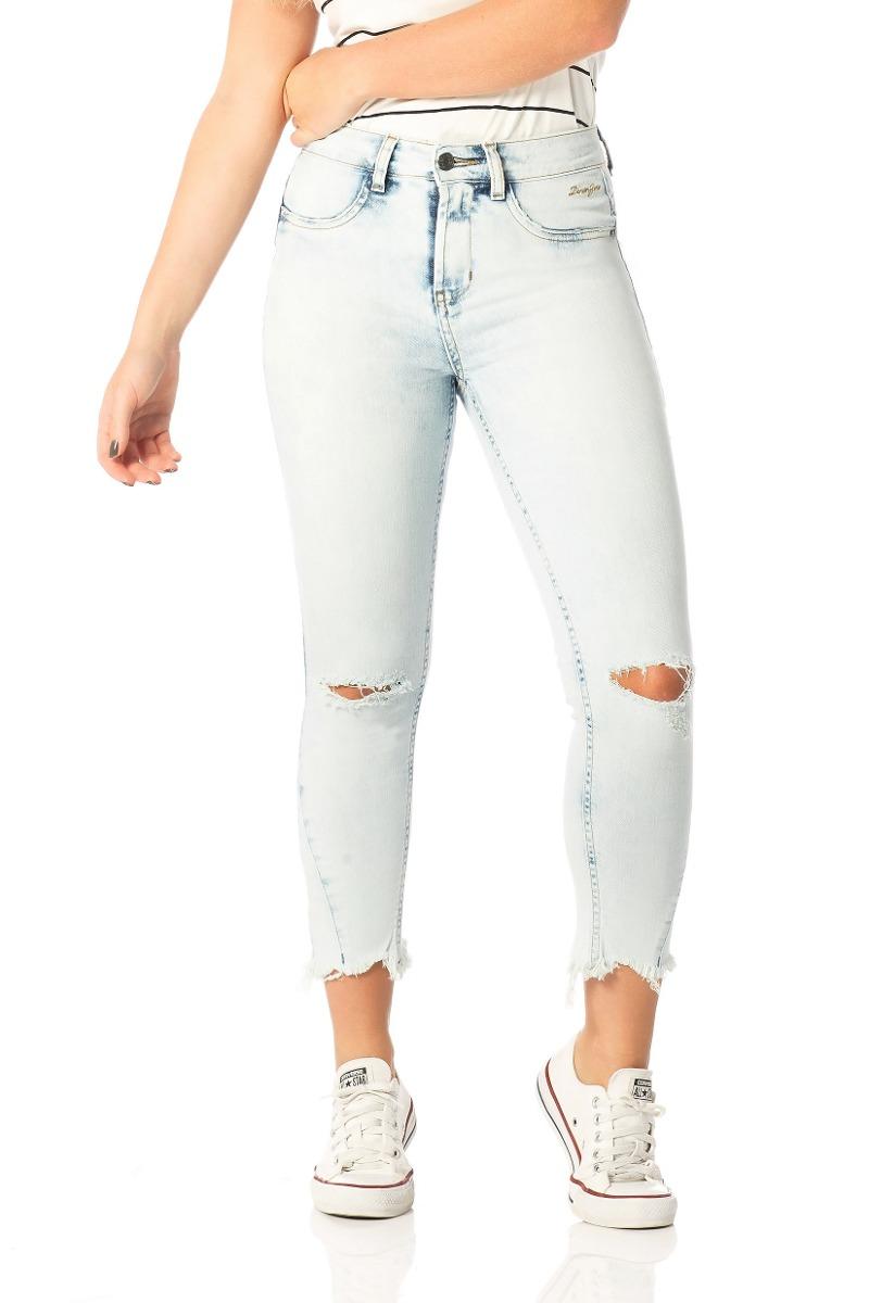 calça jeans skinny média cropped clara denim zero-dz2532. Carregando zoom. df9b0b5674c43