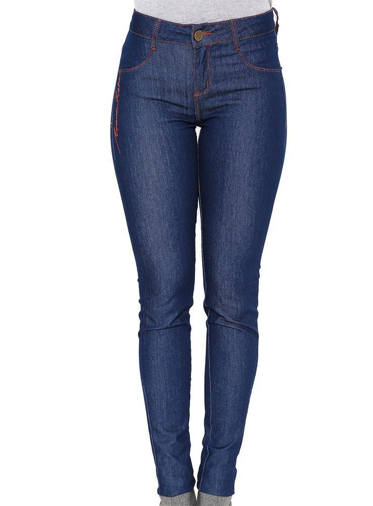 69aef137f4 calça jeans skinny morena rosa andreia bordado lateral. Carregando zoom.