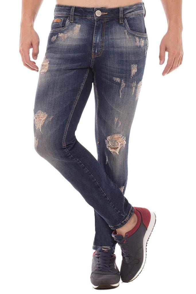 35f920739 Calça Jeans Skinny Osmoze Azul - R$ 79,90 em Mercado Livre