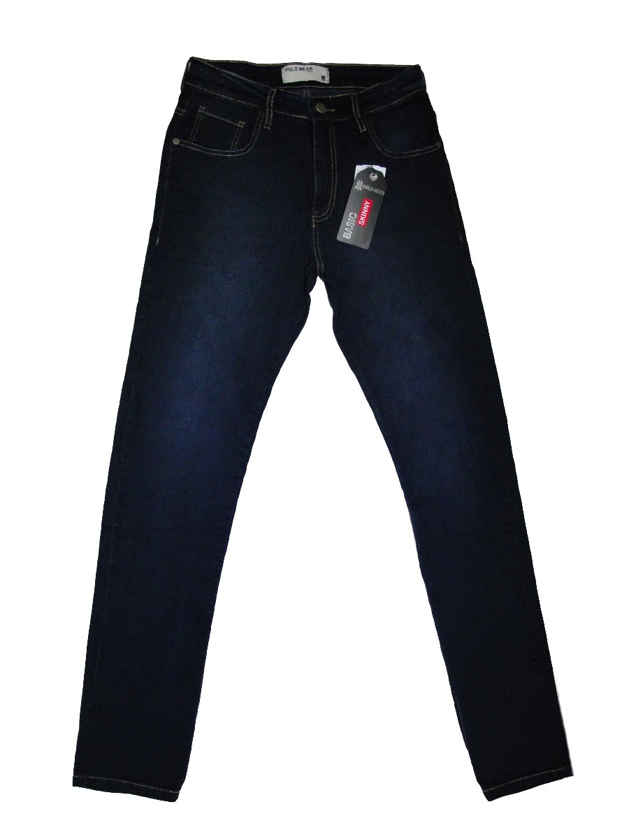 17dc0ea4a86a5 calça jeans skinny polo wear. Carregando zoom.