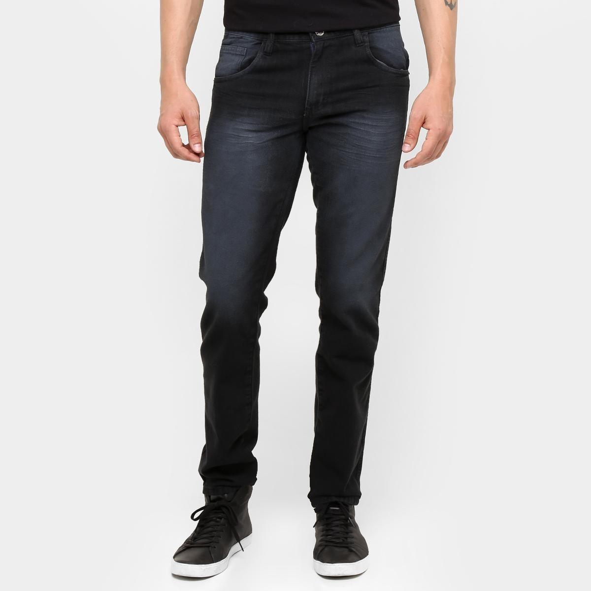 edc03ceb8 calça jeans skinny preston estonada black masculina. Carregando zoom.