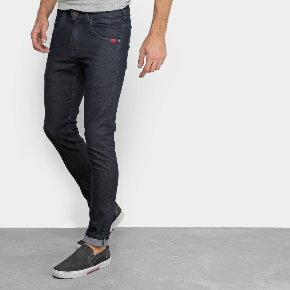 aa6e404e5 calça jeans skinny rock & soda lisa básica masculina. Carregando zoom.