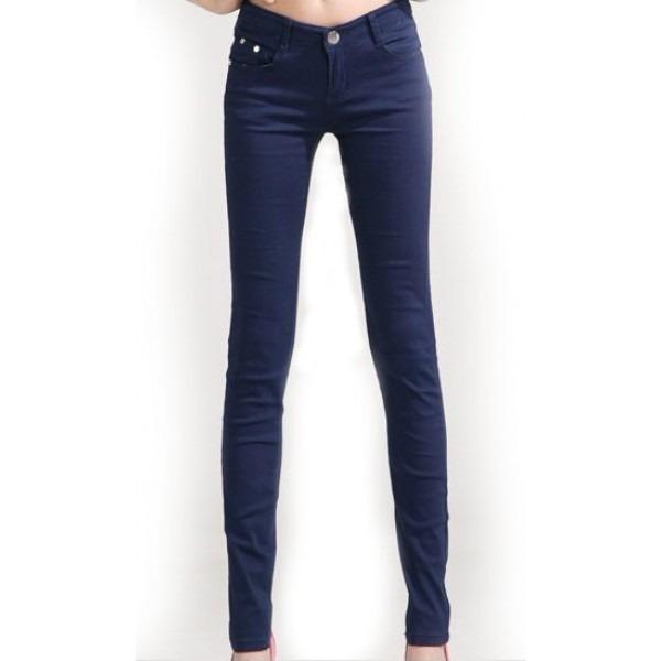 05c01f066 Calça Jeans Skinny Stretch - Azul Escuro - R$ 35,90 em Mercado Livre