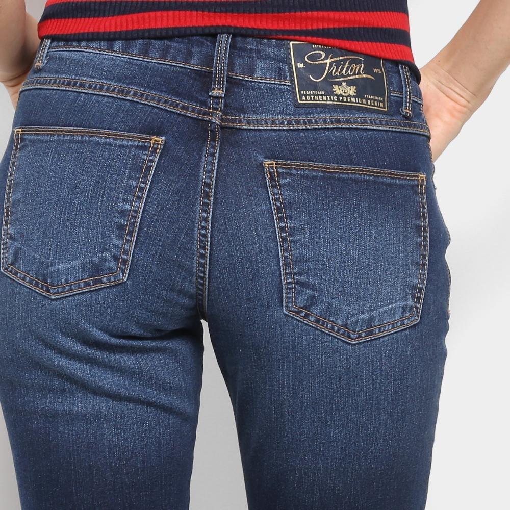 480d9a879 calça jeans skinny triton fátima cintura média feminina. Carregando zoom.