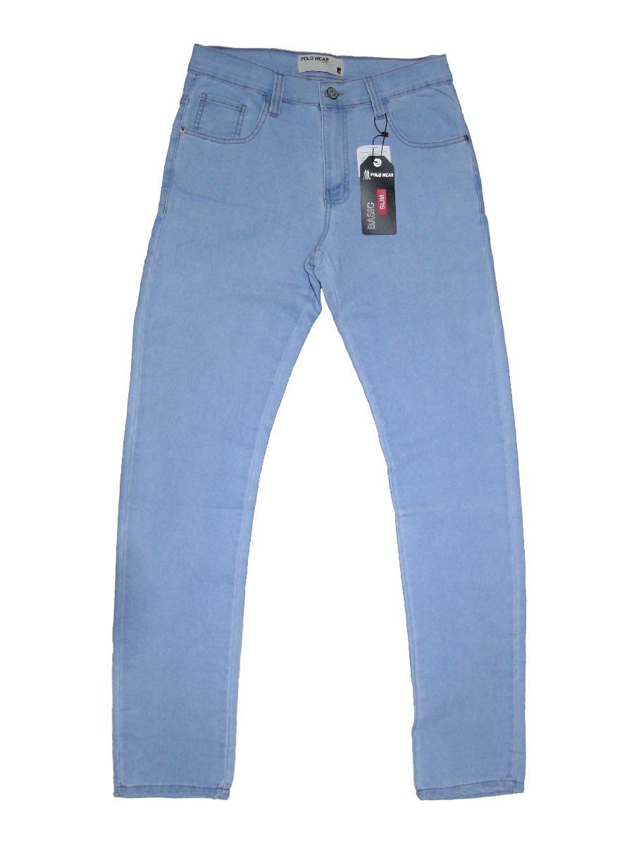 5bfd093990 calça jeans slim polo wear. Carregando zoom.