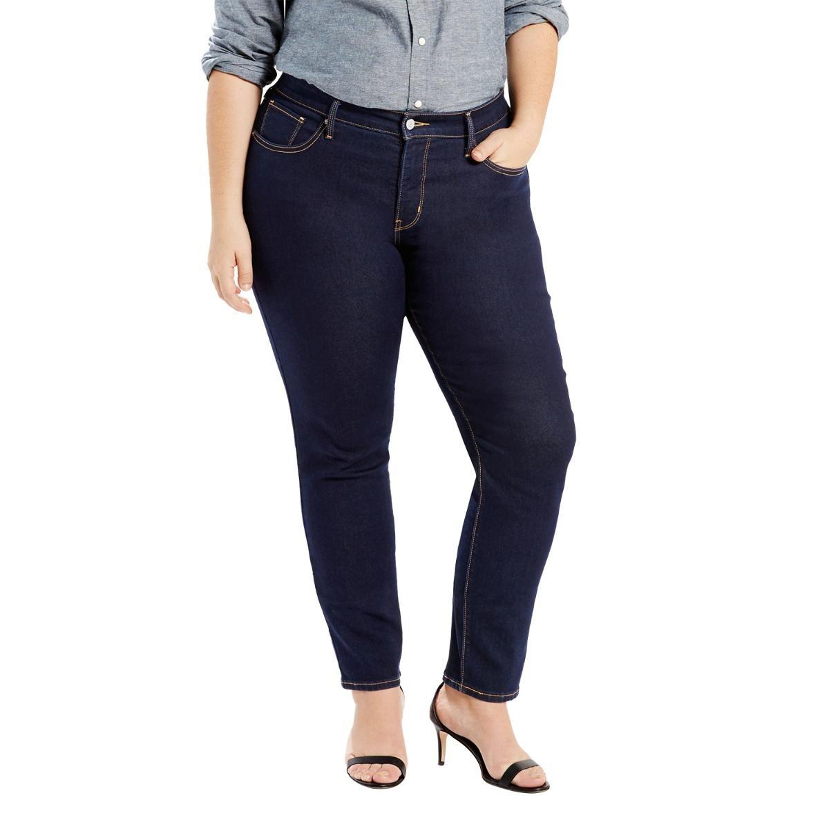 bd5bfd7661ac4 calça jeans women levis 311 shaping skinny plus size escura. Carregando  zoom.