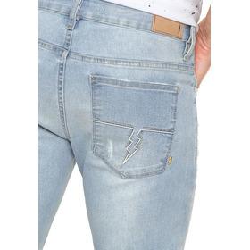 Calça Jeans Zoomp Masculina Slim Thomas Azul Tamanho 46