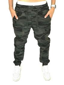 d332727661 Calça Jogger Camuflada Militar Masculina Superpromoção