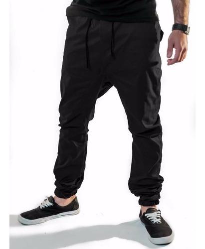 calça jogger masculina sarja com elastano vcstilo