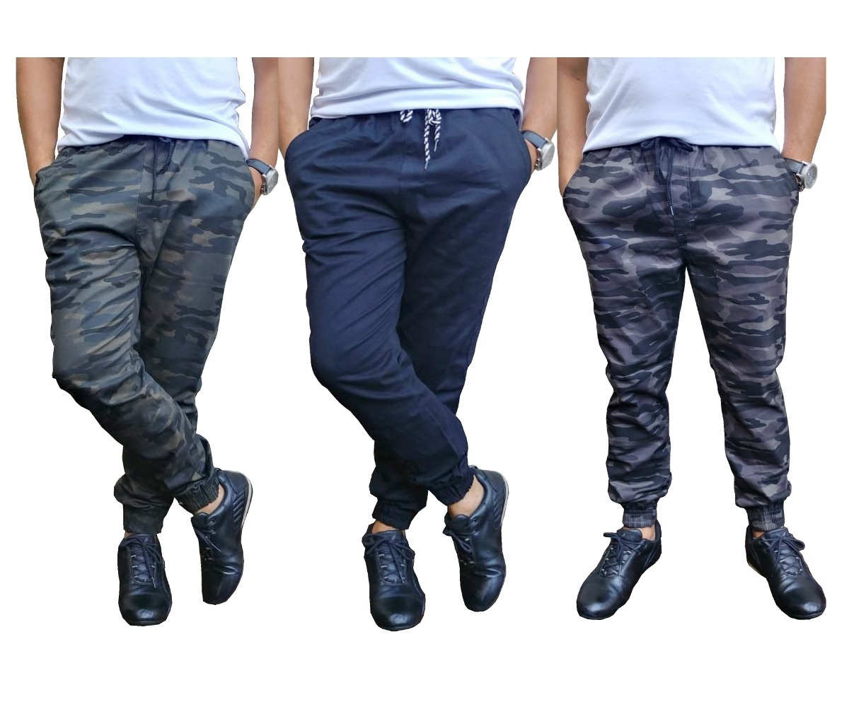 12c5a2f36 calça jogger sarja skinny moda masculina c  elastico. Carregando zoom.