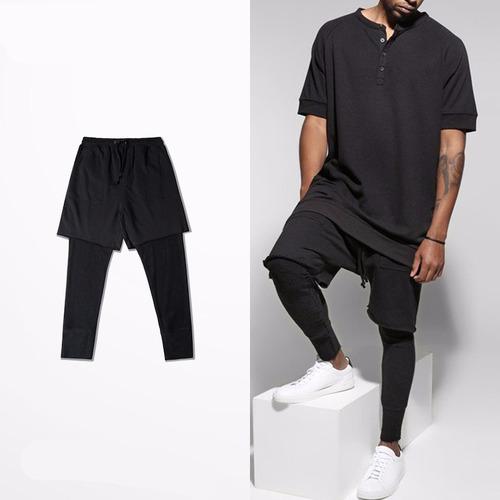 calça jogger street - bermuda - hip-hop v27