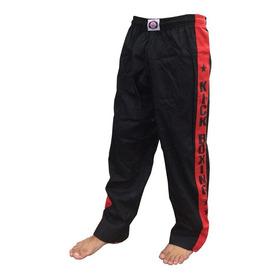 Calça Kickboxing - Kickboxe Treino - Brim - Adulto