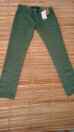 calça la rossi cigarrete - verde