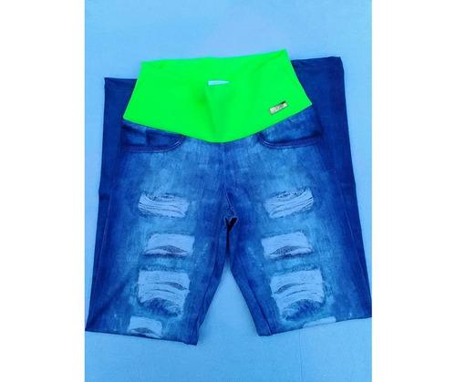 calça leggin promoção fitnes roupas feminino leg + brinde