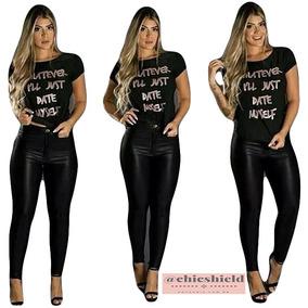 a6bd03fab Calca Cigarette Looper - Leggings Femininas no Mercado Livre Brasil