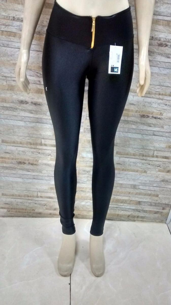 36cbb70dd calça legging cirre ziper brilho molhado fitness. Carregando zoom.