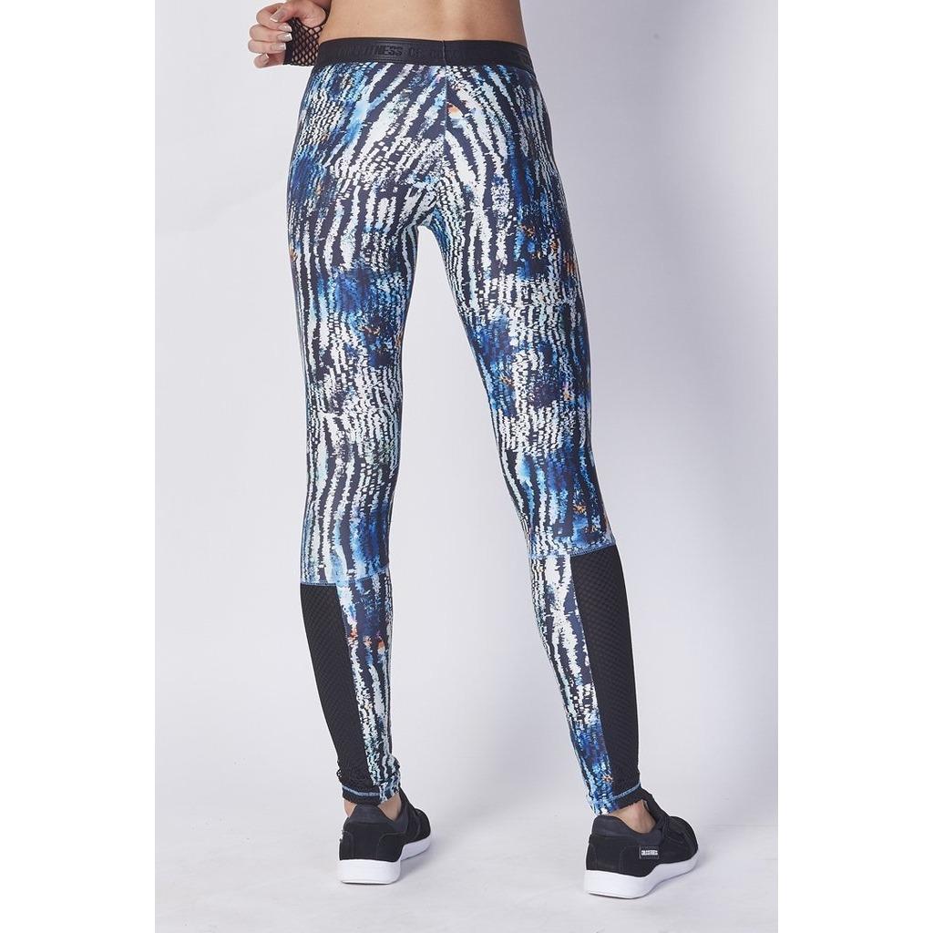 a45ea458b calça legging colcci fitness estampada original + nota f. Carregando zoom.