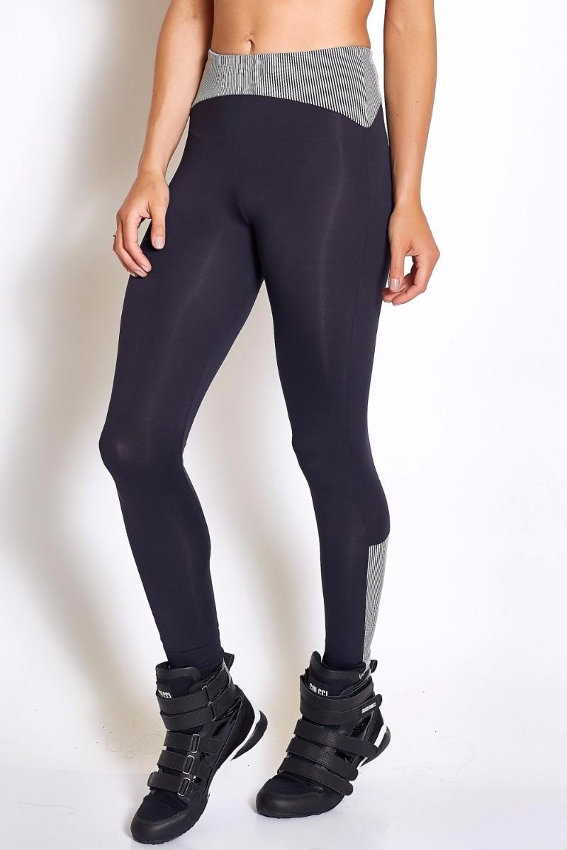 1064b56d1 Calça Legging Feminina Preta Stripe Colcci Original Promoção - R ...