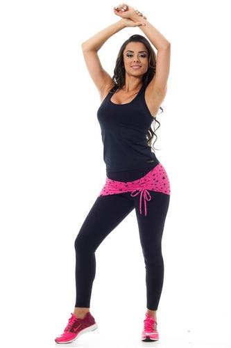calca legging fusô academia canoan com tapa bumbum fitness