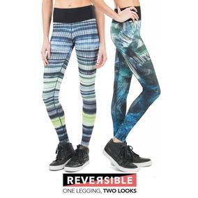 f5aab339c Calca Legging Live Reversible - Calçados