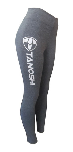 calça legging ginástica fitness corrida luta tanoshi cinza