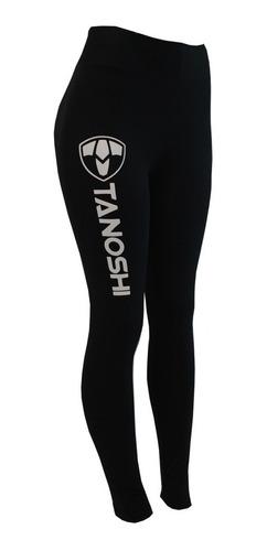 calça legging ginástica fitness corrida luta tanoshi preta