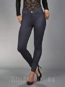 a401d4236 Calça Legging Jeans Preta - Demillus