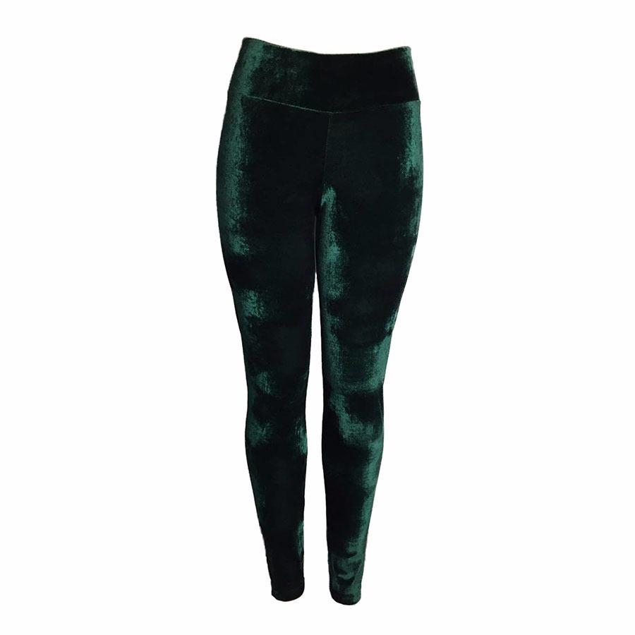 f5f56d59f kit 2 calça de veludo molhado legging feminina cós alto leg. Carregando  zoom... calça legging leg. Carregando zoom.