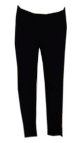calça legging leg cotton 8% menina 2 anos ref 9022