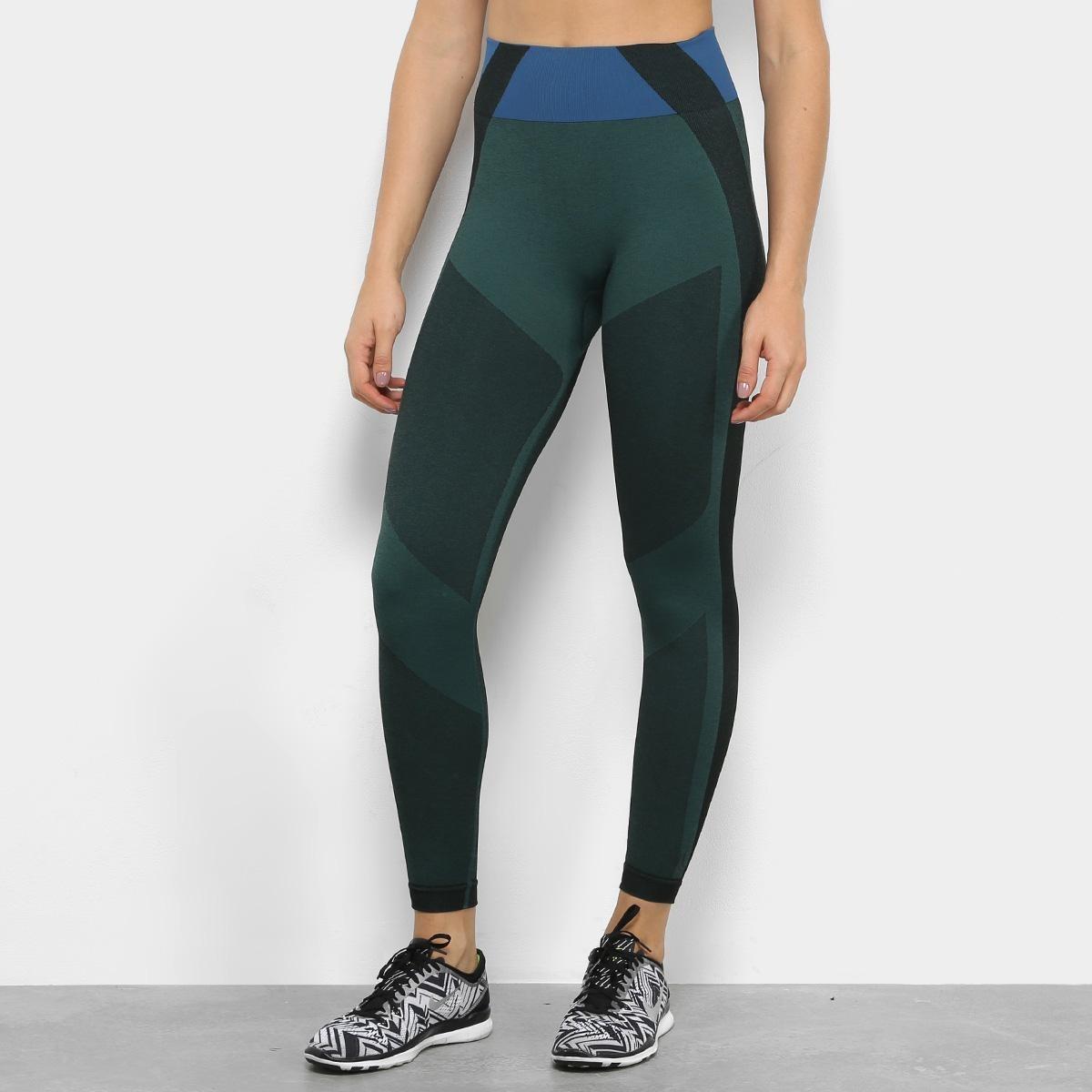 aebd9197668 calça legging lupo af leg. mescla feminina - cor verde. Carregando zoom.