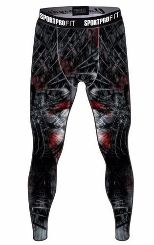 calça legging masculina leg academia compressão 2 pçs