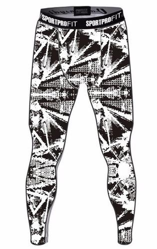 calça legging masculina leg compressão 4 pçs