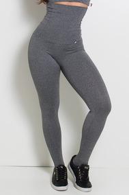 d097aa755 Calça Legging Modeladora Com Pezinho - Calçados, Roupas e Bolsas no Mercado  Livre Brasil