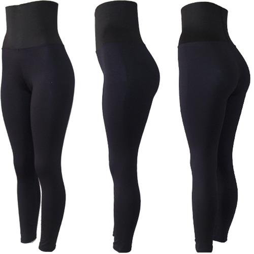 calça legging modeladora poliamida compressão reduz medida