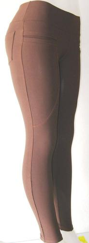 calça legging montaria suplex alta compressão enfermeira fit