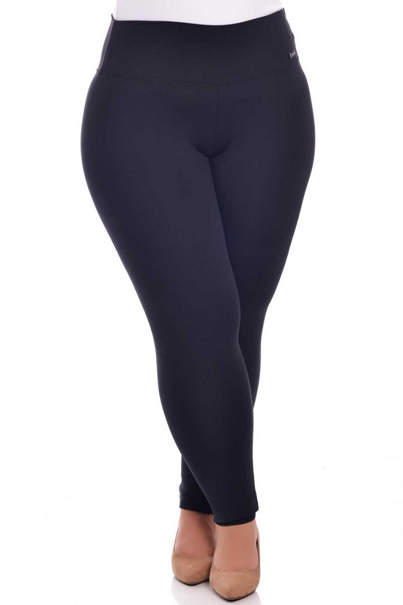 a09bb7a19 Calça Legging Plus Size Suplex De Poliamida - R$ 69,90 em Mercado Livre