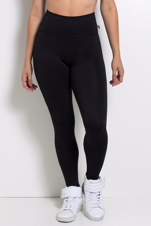 b188794ba calça legging preta lisa cintura alta. Carregando zoom.