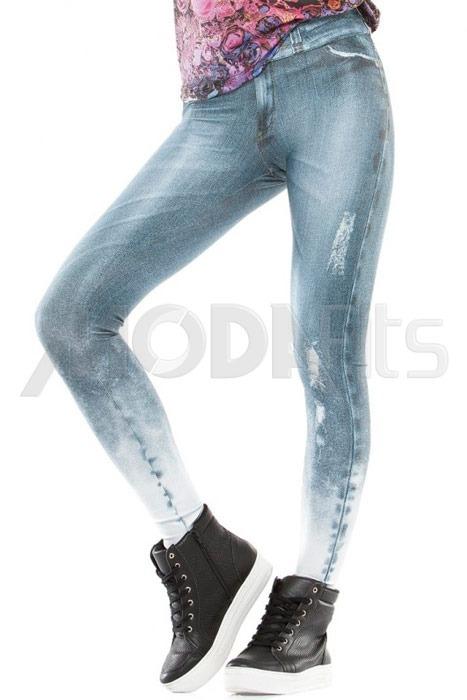4404c890c Calça Legging Rolamoça Fake Jeans - 06260-sb238 Original - R  169