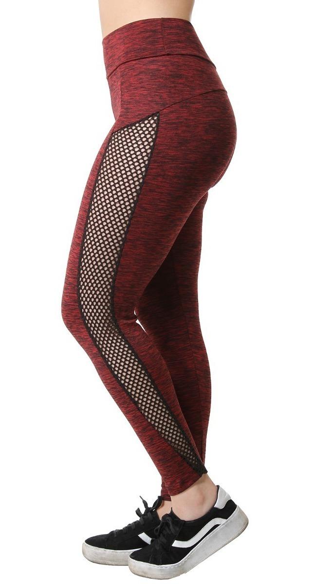 f3ccaf1e145691 Calça Legging Suplex Malhar Mescla Feminina Fitness 8745 - R$ 24,90 ...