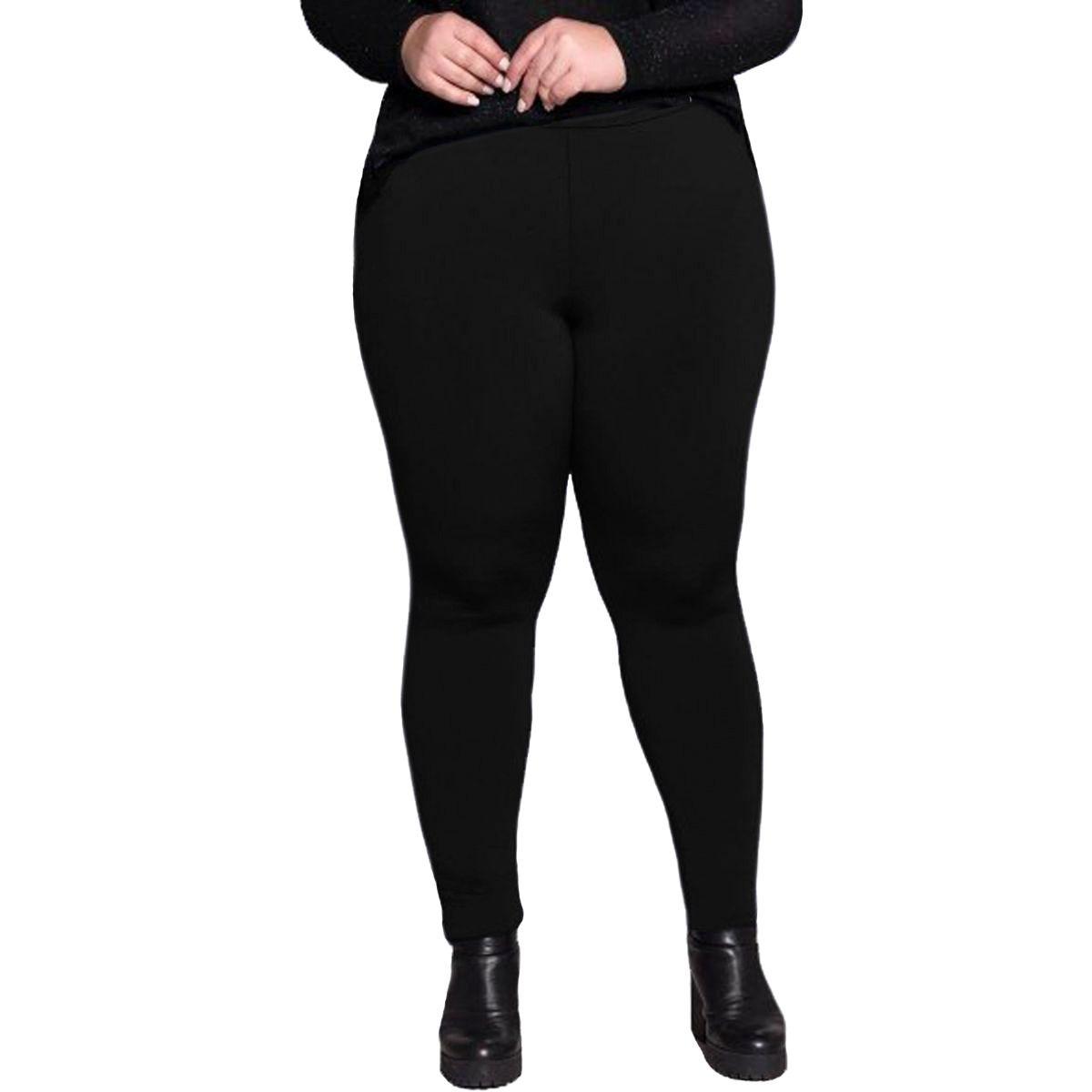 f03eb8122 calça legging suplex plus size pelucia feminina leg preta. Carregando zoom.