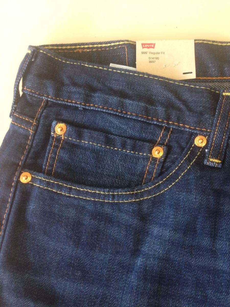 416d8b2e74203 calça levi s 505 regular fit levis jeans tradicional. Carregando zoom.