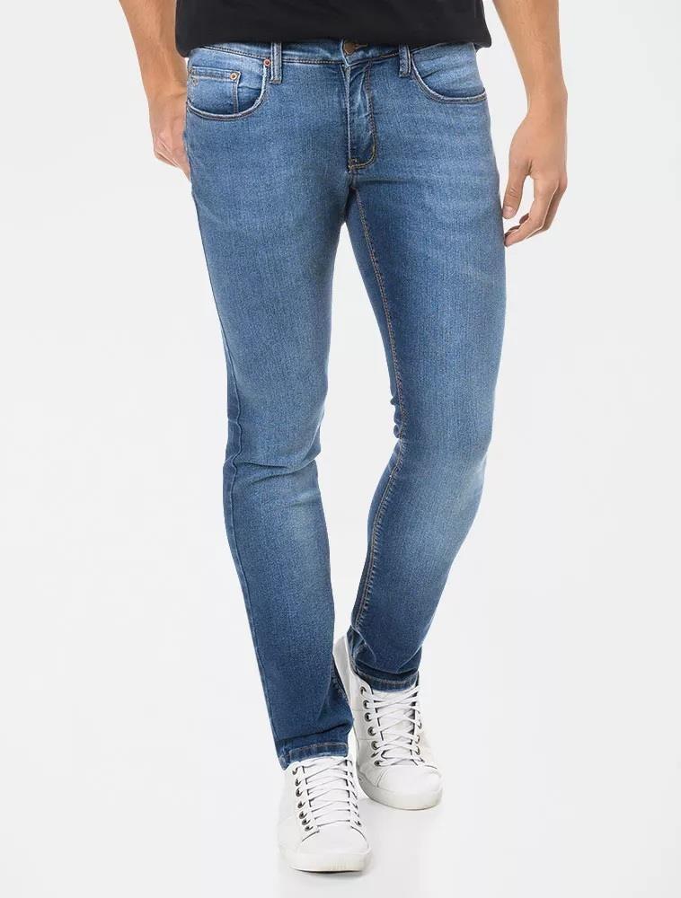 a9835aa70 calça masculina calvin klein jeans skinny five pockets azul. Carregando  zoom.