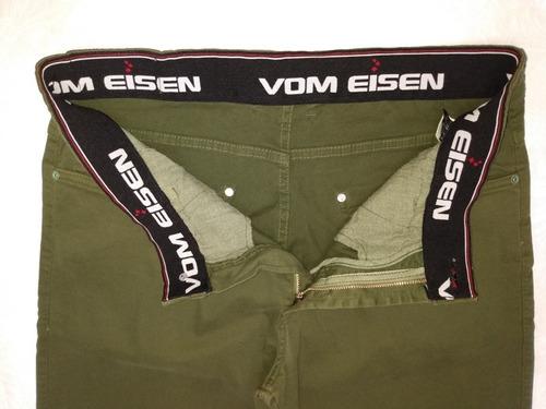 calça masculina color vom eisen