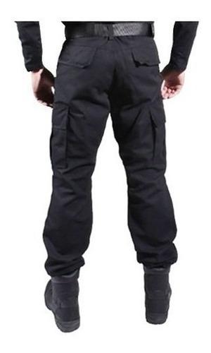 calça masculina combat tática 6 bolsos reforçada treme terra