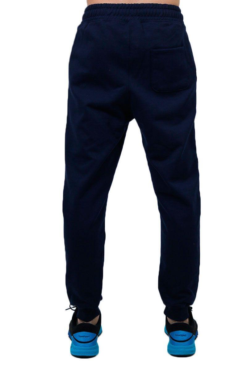 calça masculina de moletom jogger básica azul marinho bki. Carregando zoom. e77a0bc3180