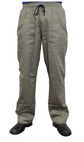 calça masculina em brim uniforme profissional (kit 6 uni)