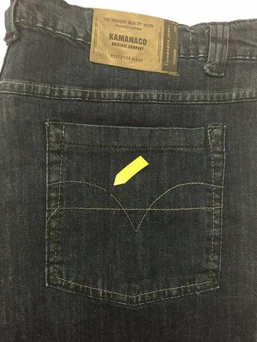 calça masculina jeans tamanho grande pequenos defeitos 2010