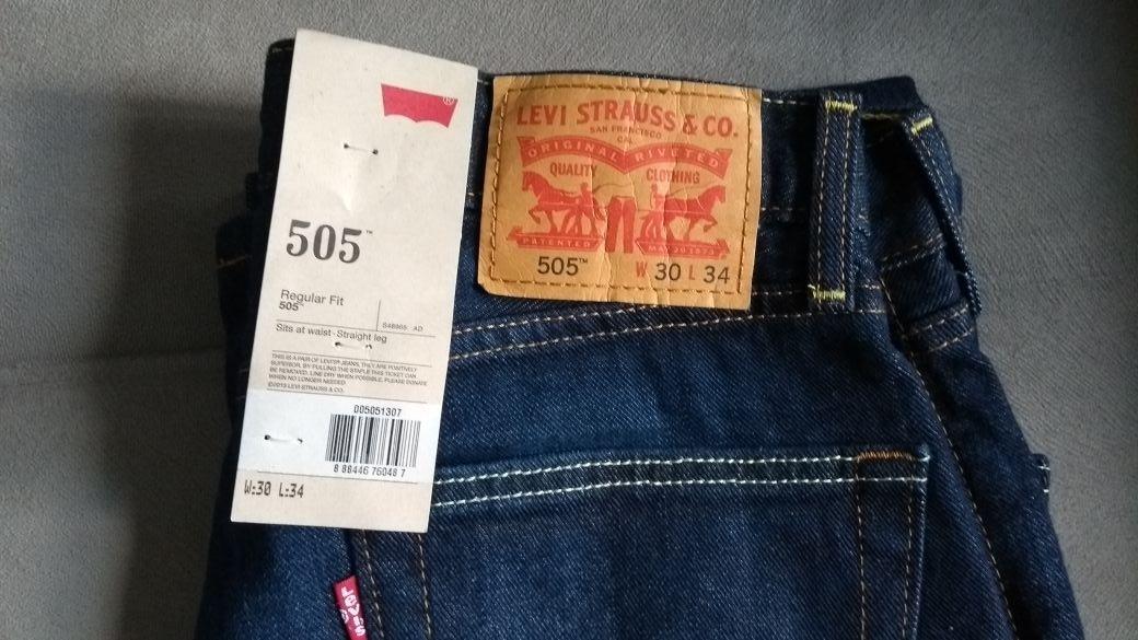 ae1dcd6d2e5b4 calça masculina levi s jeans original 505 tradicional levis! Carregando zoom .