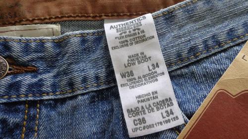 calça masculina marca levi strauss authentics original linda